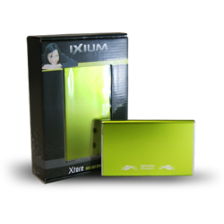 "Ixium Xtore Orion green 2.5"" USB 2.0 - SATA"