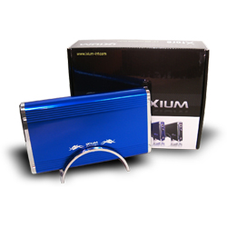 "Ixium Xtore Orion blue - 3.5"" USB 2.0. - SATA"