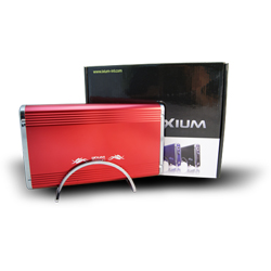 "Ixium Xtore Orion red - 3.5"" USB 2.0. - SATA"